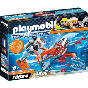 Playmobil Υποθαλάσσιο Τζετ Της Spy Team 7004 #787.342.339, narlis.gr