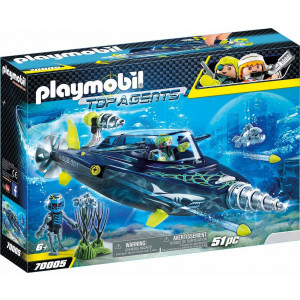 Playmobil Υποβρύχιων Καταστροφών Της Shark Team (70005)