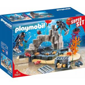 Playmobil Ομάδα Υποβρύχιων Αποστολών (70011)
