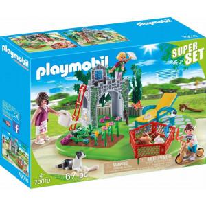 Playmobil Super Set Οικογενειακός Κήπος 70010 #787.342.358, narlis.gr