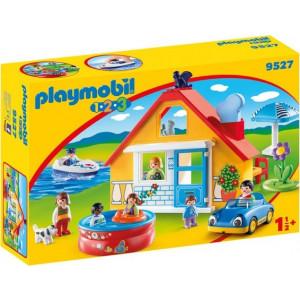 Playmobil Εξοχικό Σπίτι με Βάρκα και Αυτοκίνητο 9527 Κωδ. 787.342.246
