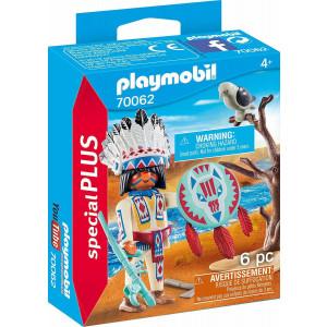 Playmobil Special Plus Ινδιάνος Αρχηγός 70062