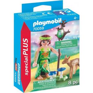 Playmobil Special Plus Νεράιδα Με Ελαφάκι 70059 narlis
