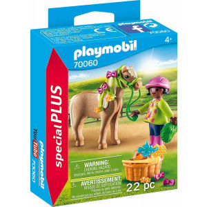 Playmobil Κορίτσι Με Πόνυ 70060 narlis