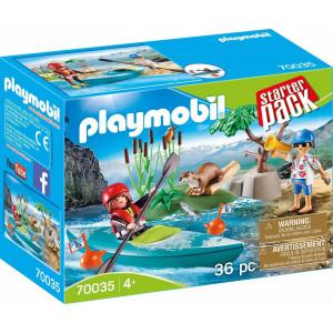 Playmobil Starter Pack Σχολή Κανόε Καγιάκ 70035 #787.342.360, narlis.gr