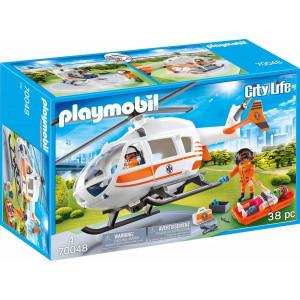 Playmobil Ελικόπτερο Διάσωσης (70048)