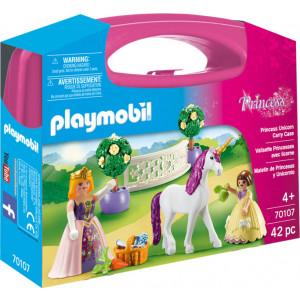 Playmobil Princess Maxi Βαλιτσάκι Πριγκίπισσες 70107 #787.342.021