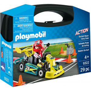 Playmobil Βαλιτσάκι Go Kart 9322 #787.342.126, narlis.gr