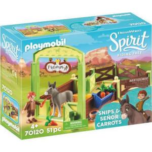 Playmobil Ο Σνιπς με το Άλογο του Σενιόρ Κάροτς 70120 #787.342.249, narlis.gr
