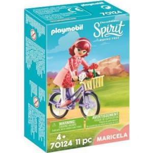 Playmobil Η Μαρισέλα με Ποδήλατο 70124 narlis.gr
