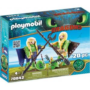 Playmobil Ο Πέτρας και η Πέτρα με Φτεροστολή 70042 #787.342.016 narlis.gr