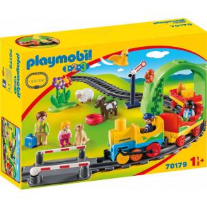 Playmobil Σετ Τρένου Με Ζωάκια Και Επιβάτες 70179, αγόρι, παιδικό παιχνίδι, narlis.gr