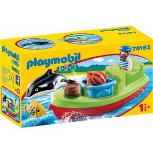 Playmobil Αλιευτικό Σκάφος 70183 #787.342.393, narlis.gr