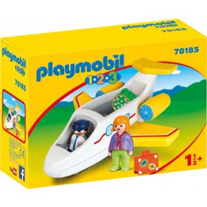 Playmobil Αεροπλάνο Με Επιβάτη (70185)