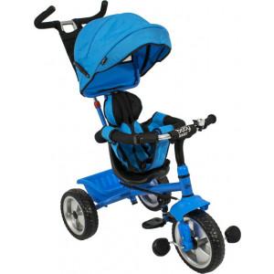 Just Baby Τρίκυκλο Ποδηλατάκι Leader 3 JB-2430 Blue, narlis.gr