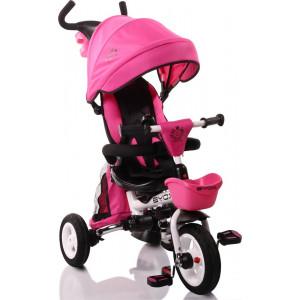 Moni Byox Τρίκυκλο Ποδηλατάκι Αναδιπλούμενο Flexy Lux Pink 3800146242749, narlis.gr