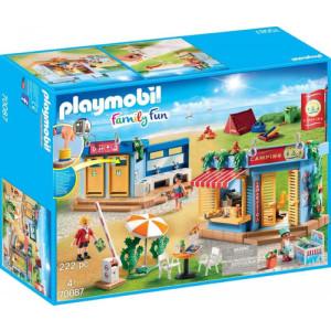 Playmobil Μεγάλο Οργανωμένο Camping (70087)