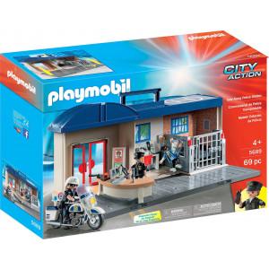 Playmobil Βαλιτσάκι Αστυνομικό Τμήμα 5689 Κωδ. 787.342.263