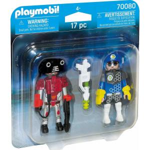 Playmobil Duo Pack Αστυνομικός Διαστήματος Και Κακοποιός 70080 narlis.gr
