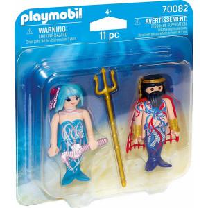 Playmobil Duo Pack Βασιλιάς Της Θάλασσας Και Γοργόνα 70082 narlis.gr
