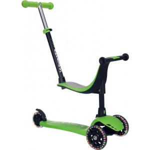 Πατίνι Bebe Stars iSporter Plus Green (651-174)
