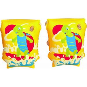 Bestway Μπρατσάκια Χελωνίτσες 23cm Κίτρινο (32043)