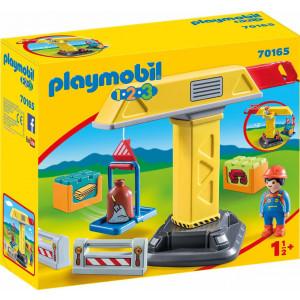 Playmobil Γερανός Κατασκευών 70165 #787.342.336, narlis.gr