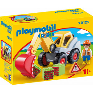 Playmobil Φορτωτής Εκσκαφέας 70125 #787.342.355, narlis.gr