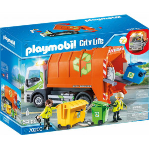 Playmobil Φορτηγό Ανακύκλωσης (70200)
