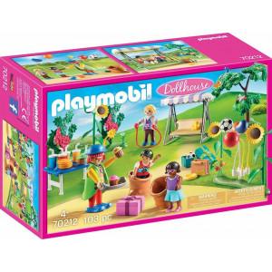 Playmobil Dollhouse, Παιδικό Πάρτι Γενεθλίων 70212, narlis.gr