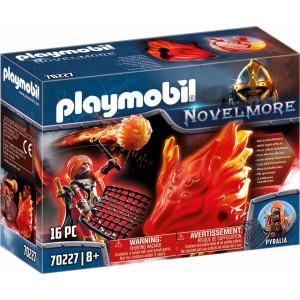 Playmobil Φύλακας Του Μπέρναμ Με Πύρινο Στοιχειό 70227 narlis.gr