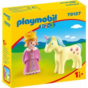 Playmobil 1-2-3 Πριγκίπισσα με Μονόκερο 70127 narlis