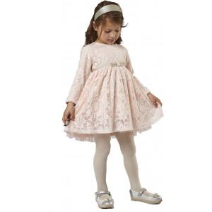 Φόρεμα ρόζ μπεμπέ Εβίτα 199218 . 291.086.100