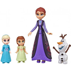 Frozen II Βασίλισσα Iduna, Elsa, Anna, Olaf (E6913)