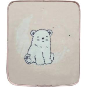 Kikka Boo Κουβέρτα/Υπνόσακος Polar Bear Pink 80x90