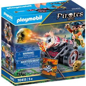 Playmobil Πειρατής με κανόνι 70415, narlis.gr