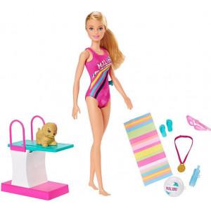 Barbie Κολυμβήτρια Κούκλα (GHK23)