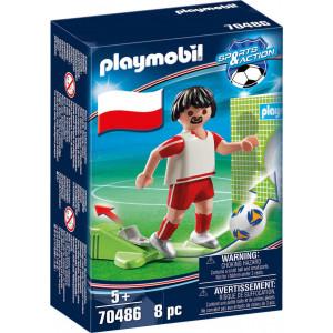Playmobil Ποδοσφαιριστής Εθνικής Πολωνίας (70486) Α