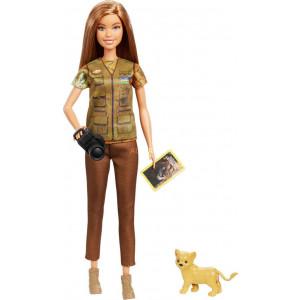 Barbie National Geographic - Κούκλα Φωτογράφος (GDM46)