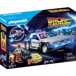 Playmobil Συλλεκτικό Όχημα Ντελόριαν (70317) Α