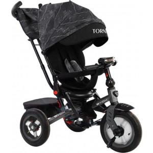 Moni Byox Τρίκυκλο Ποδηλατάκι Tornado Dark Grey 3800146230197, narlis.gr