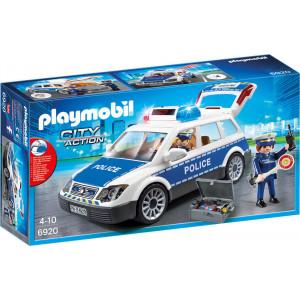 Playmobil Περιπολικό με όχημα με φάρο και σειρήνα 6920, narlis.gr
