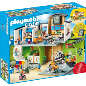 Playmobil Επιπλωμένο Σχολικό Κτίριο 9453 narlis