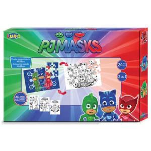 Παζλ Χρωματισμού Pj Masks 2 Όψεων 24τμχ (484006)