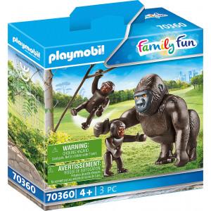 Playmobil Οικογένεια Από Γορίλλες (70360)