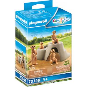 Playmobil Σουρικάτες (70349)