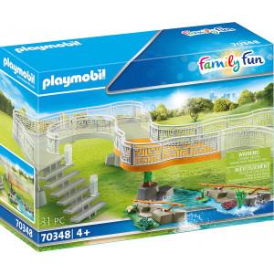 Playmobil Επέκταση Εξέδρας Μεγάλου Ζωολογικού Κήπου (70348)