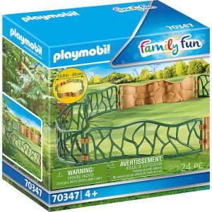 Playmobil Περίφραξη Ζωολογικού Κήπου (70347)