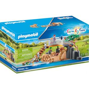 Playmobil Οικογένεια Λιονταριών (70343)