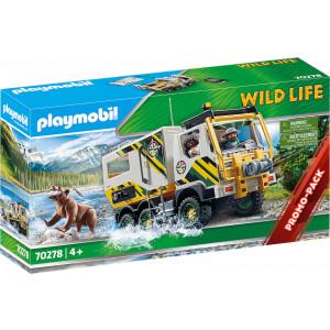 Playmobil Εξερευνητικό Όχημα (70278)